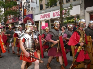 Roman soldiers in Doncaster