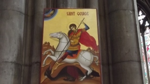 George, a busy guy who is patron saint of England & Romania, amongst many other places