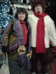 Fat Sheila 2013 with Mr Tumnus