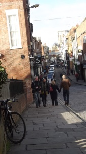 Fossgate, York, earlier this year.