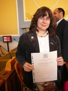 """The day I officially added the """"Anglo"""" to """"American"""": Citizenship Day, 2010"""
