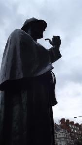 Sherlock Holmes: portrait of a fictional hero, London
