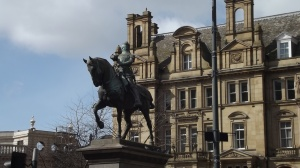 The Black Prince: statue of an English hero, Leeds.