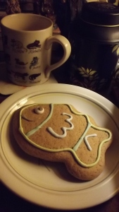 Play nice, or there'll be no smiling ginger biscuits for tea.