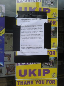 Doncaster UKIP office: 7 May 2015.