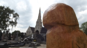An owl's eye view of Hyde Park Cemetery