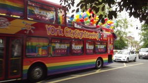 More than just a sightseeing bus: York Pride, 20 June 2015
