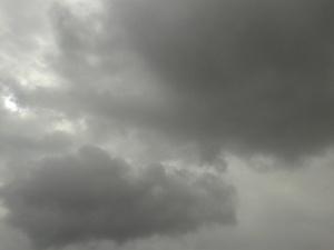 It looks like stormy skies...