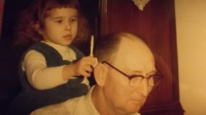 With my lovely Grandfather: 1960s