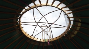 Top of the Yurt to you!