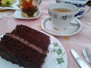 Tea and cake at Floristry by Lord Hurst: another of my favourite things