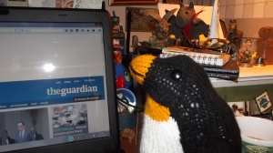 """""""All penguins read the Guardian"""" is a sweeping generalisation."""