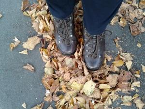 Autumnal feet