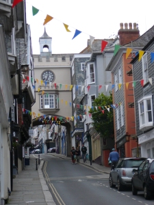 Quaint: Asburton, Devon, style.