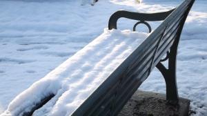 Snowy bench, HPC.