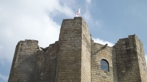 That which survives: Conisbrough Castle keep, Sept 2015