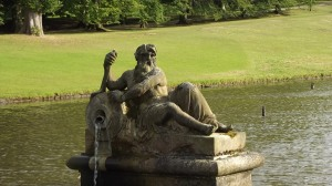 Neptune, during a rare visit to Derbyshire: Chatsworth, 2015.