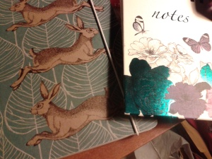 Lovely notebooks for Christmas 2015, to be filled - I hope - by or before Crimbo 2016