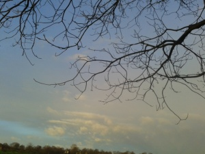 A post-shift sky: January, 2016
