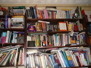 Shelf of glory, Dec 2012