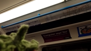 Who can blame him? Tube maps can be quite puzzling.