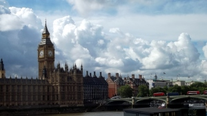 Big Ben & Westminster, earlier this month