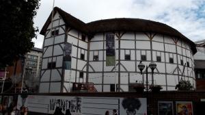 The new Globe Theatre!