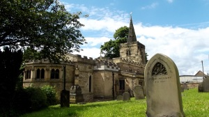 St John the Baptist Church, Mexborough: part of the Ted Hughes Trail
