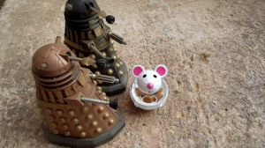 How a mouse-shaped robot came to be on Skaro was a question the Daleks didn't take time to ask.