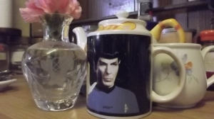 Peace & long life: Spock on a mug