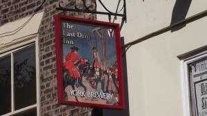 Pub sign, York