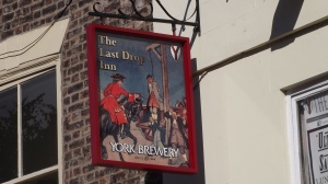 Pub sign, York