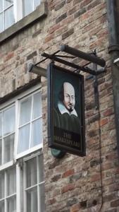 Pub sign, Durham