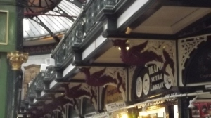 Many dragons: Leeds Market, 2016