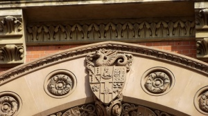 Crest of a dragon: St Pancras Hotel, London
