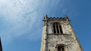 A beautiful blue sky: York, Sept 2016