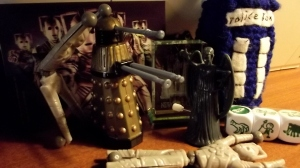 What do you do with some drunken Cybermen?